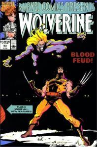 Marvel Comics Presents (1988 series) #53, VF+ (Stock photo)
