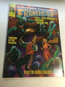 Castle Of Frankenstein 25 Nm Near Mint Magazine