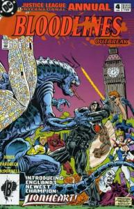 Justice League (1987 series) Annual #4, VF- (Stock photo)
