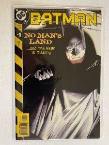 Batman No Man's Land #1 Newsstand 8.0 VF (1999)