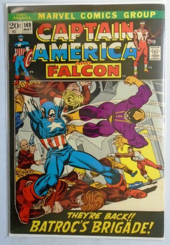 Captain America (1st Series) #149, 5.5 (1972)