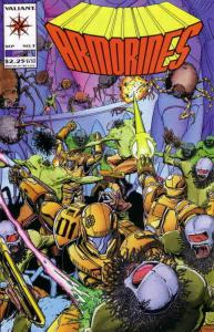 Armorines #3 VF/NM; Valiant   save on shipping - details inside