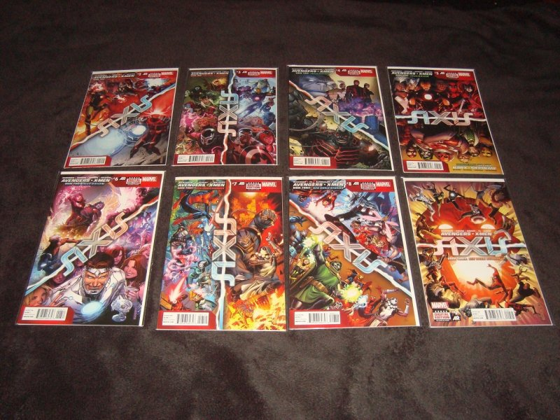 AVENGERS AND X-MEN AXIS, AXIS REVOLUTIONS, AXIS HOBGOBLIN (2014) LOT OF 19