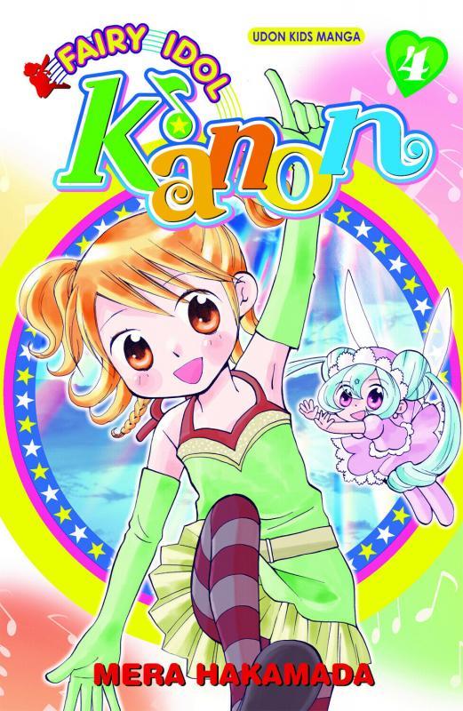 Fairy Idol Kanon Graphic Novel Vol 4 (Udon, 2010) New!