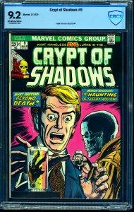 Crypt of Shadows #9 CBCS NM- 9.2 Off White to White