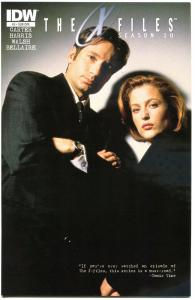 X-FILES #5 Season 10, NM-, Fox Mulder, Scully, 2013, Chris Carter, more in store