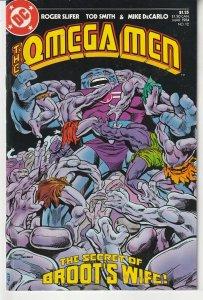 Omega Men(vol. 1) # 12  The End of Broot's Quest