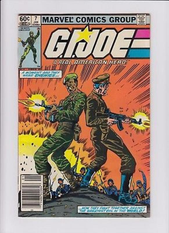 GI JOE #7, VF, Marvel, Herb Trimpe, Larry Hama, 1982, War