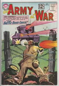 Our Army at War #123 (Oct-62) VF High-Grade Easy Company