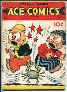 ACE COMICS #40 1940-DAVID MCKAY-PHANTOM-PRINCE VALIANT-BLONDIE-JUNGLE JIM-fr