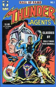Hall of Fame Featuring the THUNDER Agents #1 FN; John C | save on shipping - det