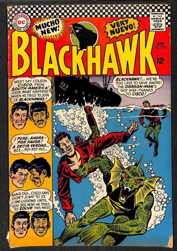 Blackhawk #219 (1966)