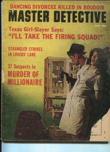 MASTER DETECTIVE-04/1964-LAUNDROMAT RAPIST-37 SUSPECTS OF MILLIONAIRE MURDER VG