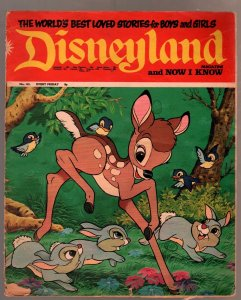 Disneyland #141 1973-U.K-Bambi-Peter Pan-Dumbo-FR/G