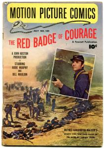 Motion Picture Comics #105 1951- The Red Badge of Courage VG
