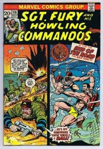 Sgt Fury #116 ORIGINAL Vintage 1973 Marvel Comics