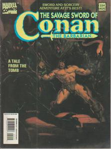 The Savage Sword of Conan the Barbarian #224 - Magazine