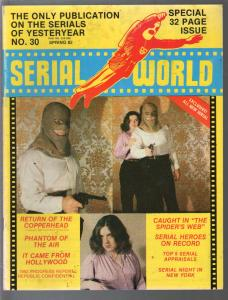 Serial World #30 1982-Kretzer-Phantom of The Air-Copperhead-VG/FN
