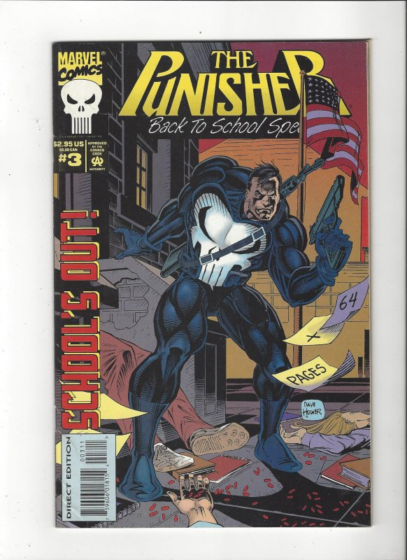 Punisher Back To School Special #3 64 Pages Marvel Comics VF/NM