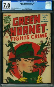 Green Hornet #37 (Harvey, 1948) CGC 7.0