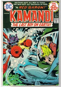 KAMANDI #22, VF, Jack Kirby, Last Boy on Earth, 1972, VFN, more in store