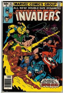 INVADERS (1975-1979) 41 VG-F Sept. 1979