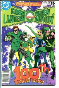 GREEN LANTERN #100-GREEN ARROW-1st AIR WAVE II- FN