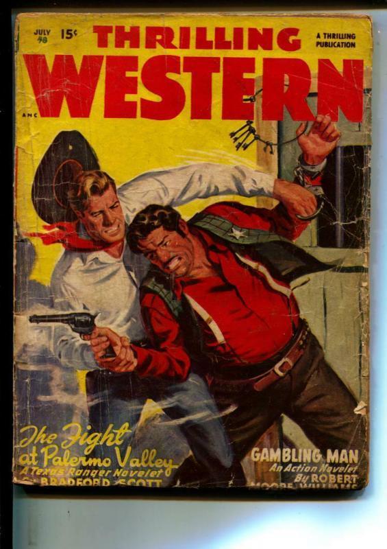 Thrilling Western-Pulps-7/1948-Bradford Scott-Ray Goulden