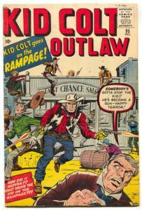 Kid Colt Outlaw #95 1960- Jack Kirby- Rare Marvel Western FN