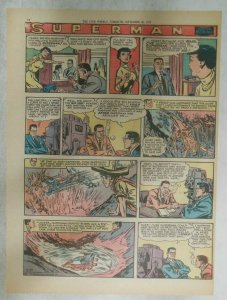 Superman Sunday Page #935 by Wayne Boring from 9/29/1957 Size ~11 x 15 inches