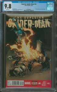 Surperior Spider-Man #16 CGC Graded Phil Urich becomes the Goblin Knight