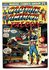 Captain America #168 comic book 1ST Baron Zemo II 1973 MCU