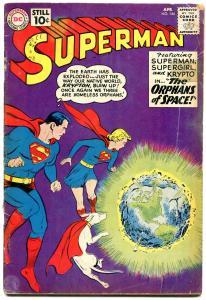 Superman #144 1961- DC Silver Age- Supergirl Krypto G