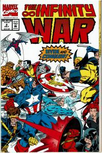 Infinity War #2, 9.4 or better, Jim Starlin Story