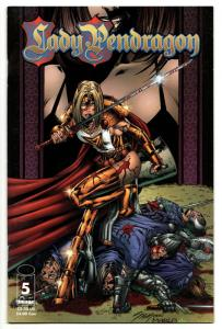 Lady Pendragon #5 (Image, 1999) VF
