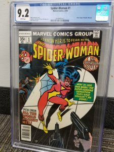 Spider-Woman # 1, CGC 9.2 4/78 Marvel Comics