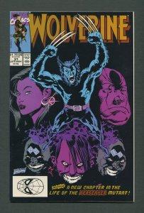 Wolverine #31 /  9.6 NM+  / 1st Hama,Silvestri  (1988 1st Series)