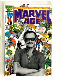 Marvel Age # 41 NM Comic Book Stan Lee Cover Spider-Man Thor Hulk Daredevil HJ9