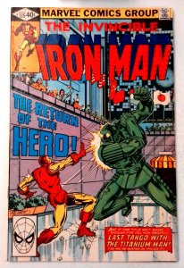 Iron Man #135 Marvel 1980 FN Bronze Age Comic Book 1st Print