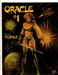 Oracle Presents # 1 Featuring Topaz Comic Book Magazine Divid Lillard 1986 JF30