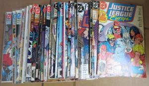 JUSTICE LEAGUE EUROPE Lot of 38 DC Comics 1989-1993 F-VF/+