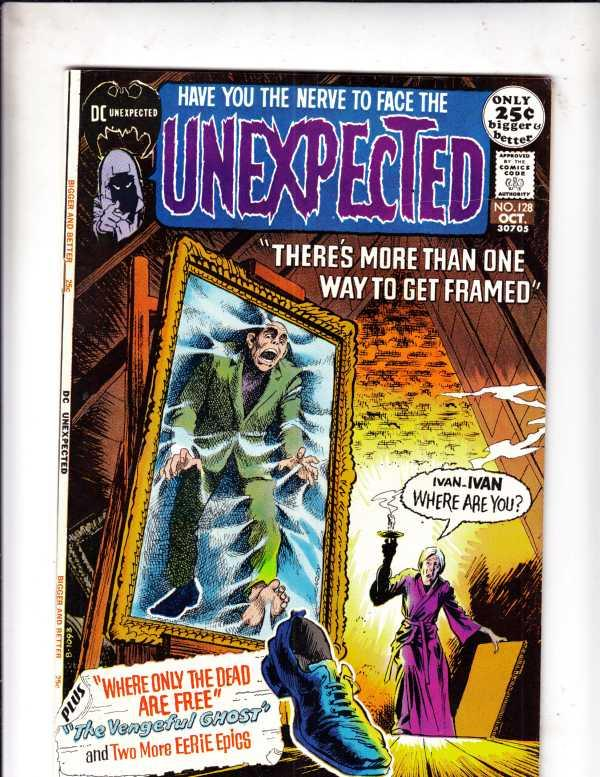 Unexpected, The #128 (Oct-71) NM- High-Grade