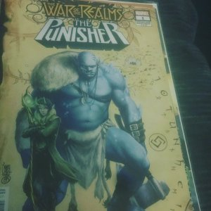 Marvel The War of Realms The Punisher #1 Variant Mint