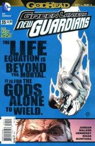 Green Lantern: New Guardians #35, NM- (Stock photo)