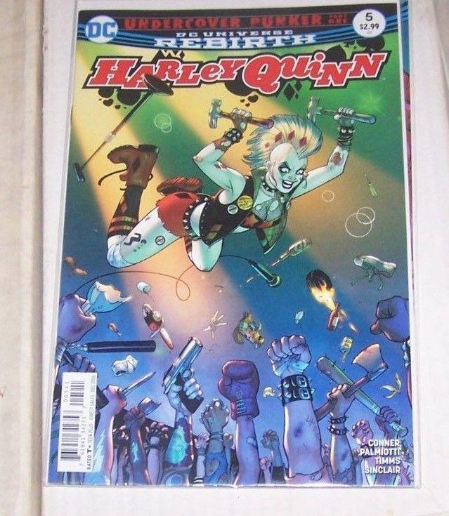Harley Quinn #5 (Early December 2016, DC) REBIRTH UNDERCOVER PUNKER PT 1
