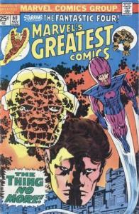 Marvel's Greatest Comics #60, VF-