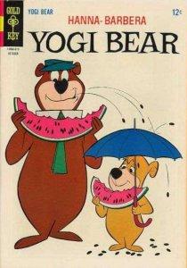 Yogi Bear (1959 series) #26, Fine+ (Stock photo)