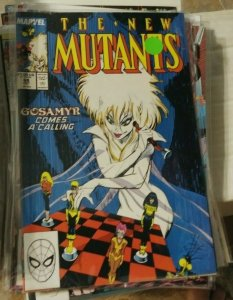 NEW MUTANTS  #68  1988 marvel X MEN DEAD GOSAMYR SUNSPOT WARLOCK