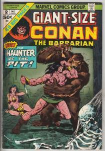Giant-Size Conan #2 (Dec-74) FN/VF Mid-High-Grade Conan