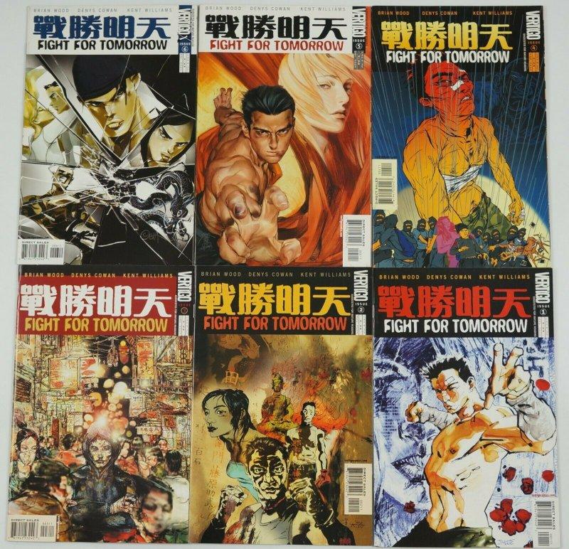 Fight For Tomorrow #1-6 VF/NM complete series - brian wood - vertigo comics set